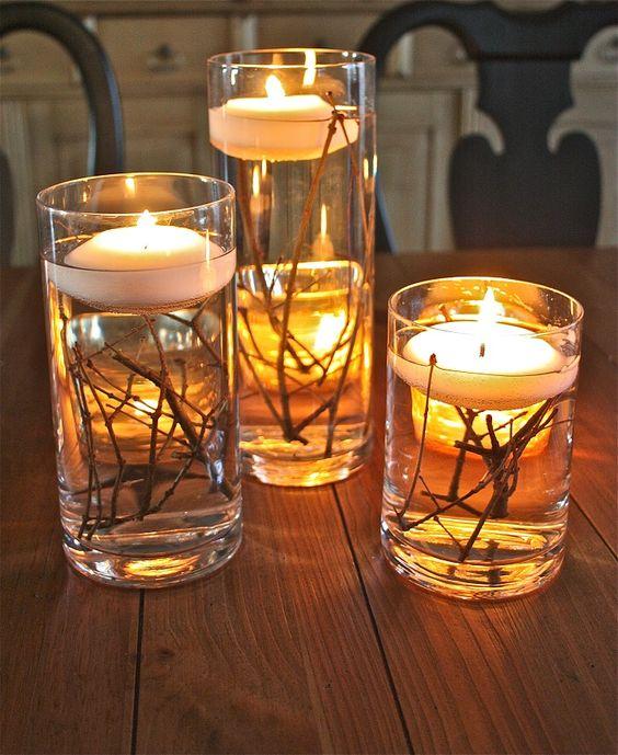 Beautiful Thanksgiving candledecor