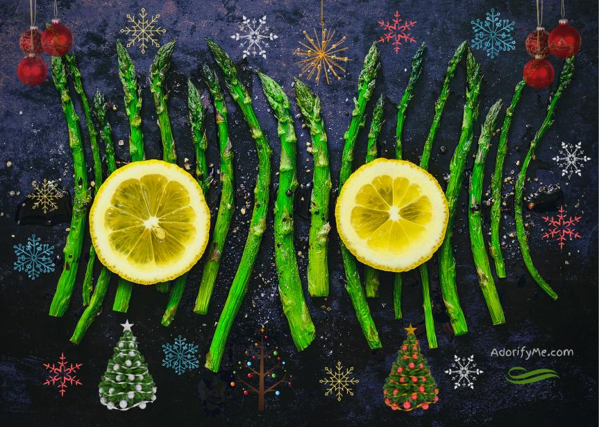 Christmas chronicles: Good asparagus, bad asparagus and The Man Who Came toDinner