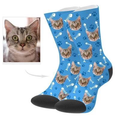 Custom cat socks