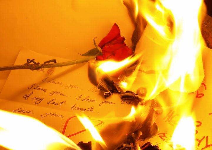 burning love letters - for the love of fire